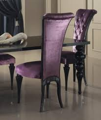 Purple Dining Room Chairs Miller Chair Nailhead Velvet Search Home