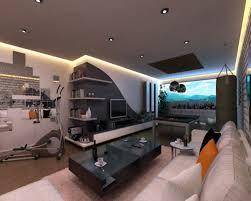 clean gaming room setup pleasing bedroom designer game home