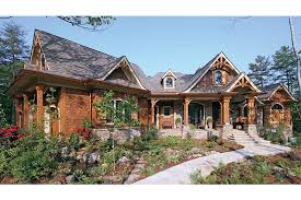 mountainside home plans home in the woods hwbdo14907 craftsman from builderhouseplans