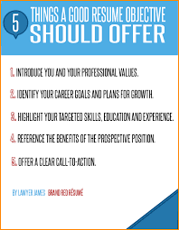 Job Objective Sample Resume by Great Career Objectives For Resumes
