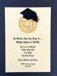 graduation cap invitations jac o lyn murphy graduation pizza party