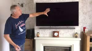samsung 32 led tv wall mount lg oled tv wall mounting youtube