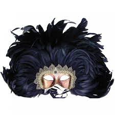 halloween feather masks venetian mask in london for her black royal feathered colombina