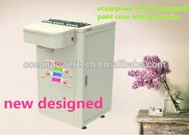 color tinting machine pigment paste matching machinery paint