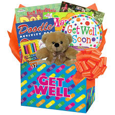 kids get well soon kids get well gift box of things to do will keep kids entertained