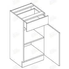 bas de cuisine pas cher meuble cuisine pas cher discount moreno meuble bas d40 40 cm 1