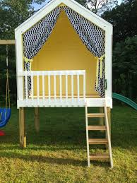 shed playhouse plans playhouse and swing set built by my husband playhouse