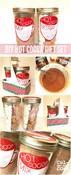 hot cocoa gift set diy hot cocoa gift set in a jar