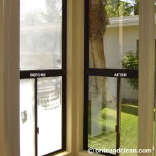 Best Cleaner For Shower Glass Doors by Brite And Clean Windows Hard Water Stain Removal