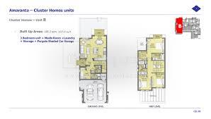 floor plans villanova dubai land by dubai properties