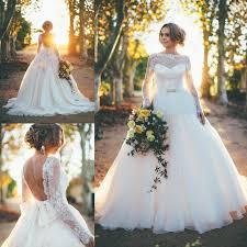 dh wedding dresses 2016 garden a line wedding dresses sleeves