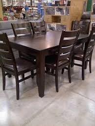 costco dining room furniture dining set with bench costco dining room furniture in cottage style