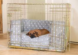 dog crate dog crate cover puppies pinterest crate dog crate bumper and cushion set in grey spot from lords labradors