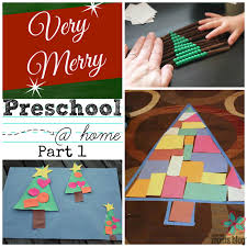 a very merry preschool home part 1