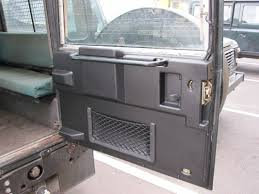 land rover defender 4 door interior land rover defender rear door panel black the 4x4 experience