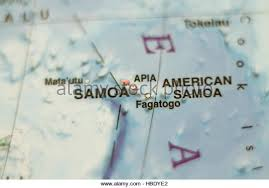 map samoa map samoa stock photos map samoa stock images alamy