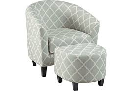 ottoman and accent chair larina accent chair ottoman accent chairs gray