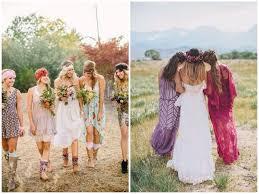 mariage hippie que porter à un mariage bohème save the deco
