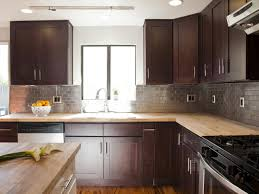 neutral kitchen paint colors with oak cabinets dark black grout