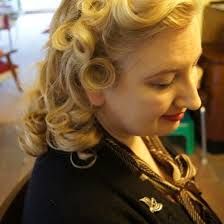 crossdresser forced to get a bob hairstyle have modern hairdressers forgotten how to curl circa vintage