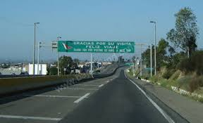 mexico toll road map photo directions to the ready san ysidro