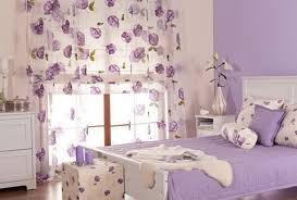 lilac bedroom curtains cream and lilac color in the bedroom home interior design