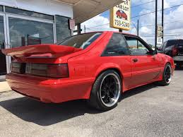 1990 ford mustang 1990 ford mustang lx 2dr hatchback in san antonio tx car lot