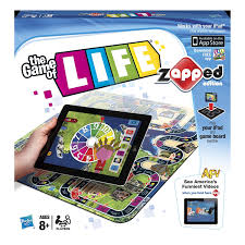 amazon com the game of life zapped edition toys u0026 games