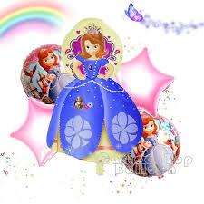 wholesale 5pcs lot princess sofia balloons pretty sophia helium