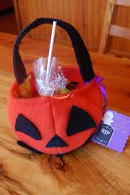 handmade halloween treat bags filling a handmade halloween treat bag with crafty things and