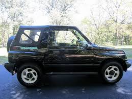 chevy tracker 1995 sell used no reserve 1995 chevrolet geo tracker with 4x4 and very