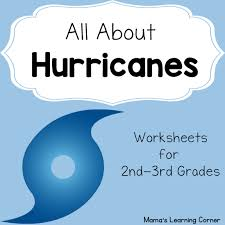 hurricane worksheets mamas learning corner
