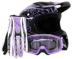 black motocross bike amazon com offroad helmet goggles gloves gear combo dot