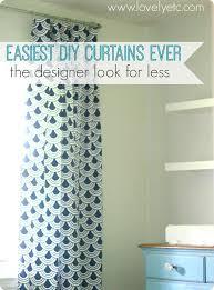 Custom Drapery Fabric Easiest Diy Curtains The Designer Look For Less