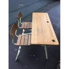le de bureau ancienne bureau pour enfant pupitre d école à l ancienne achat et vente