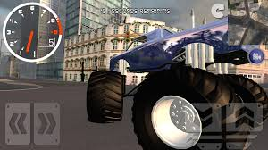 bigfoot monster truck games monster truck city driving sim android apps on google play