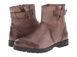 buy boots free shipping birkenstock stowe brown leather zappos com free shipping