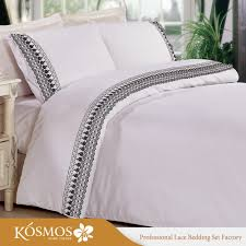 kosmos bedding polycotton embroidery design bed sheets bedsheet