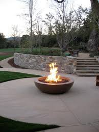 Smokeless Fire Pit by Patio Designs With A Firepit