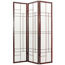 Japanese Screen Room Divider Furniture Cross Shoji Screen Room Divider Hayneedle