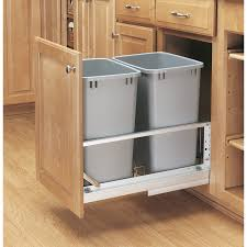 kitchen cabinet garbage can uncategories under counter trash wooden trash can holder kitchen