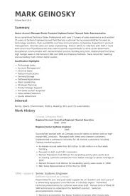 Senior System Administrator Resume Sample Senior Systems Engineer Resume Samples Visualcv Resume Samples