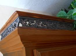Kitchen Cabinet Trim Molding by Kitchen Cabinet Top Moulding Galley Railing Trim Pewter Copper