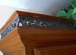 kitchen cabinets top trim kitchen kitchen cabinet top moulding galley railing trim pewter copper