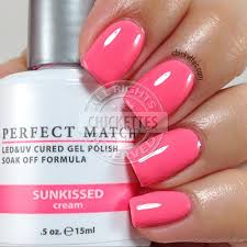 lechat perfect match oasis collection swatches u2013 chickettes soak
