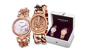 gift sets for women akribos xxiv fashion watches groupon goods