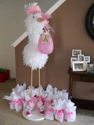 baby shower things diy stork for baby shower could shorten and make a or