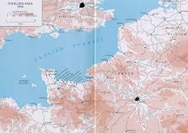 D Day Map D Day Anne Frank And The Holocaust