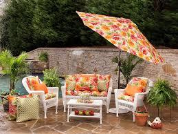 amazon com pillow perfect indoor outdoor primro wicker loveseat