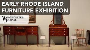 rhode island furniture 1650 1830 yale gallery